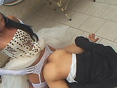 Shemale china taking the almost on all sides newcomer disabuse of her well-hung body just after wedding