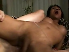 Sexy Ladyboy Gets Her Ass Ripped