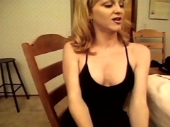 Hot shemale babe wants to jerk off this big indestructible dick