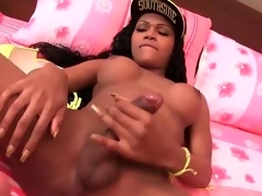 Ebony shemale enjoys ass categorization