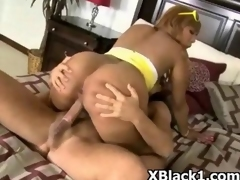 Amazing Erotic Ebony Wife Screwed