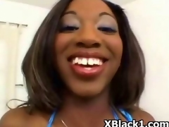 Crazy Ebony Fondling And Hardcore