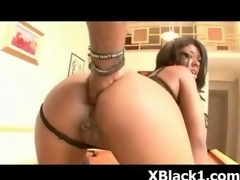 Extreme Ebony Pervert Drilled